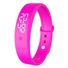 2020 Newest IP57 Waterproof Smart Body Temperature Measuring Bracelet Wristband Band