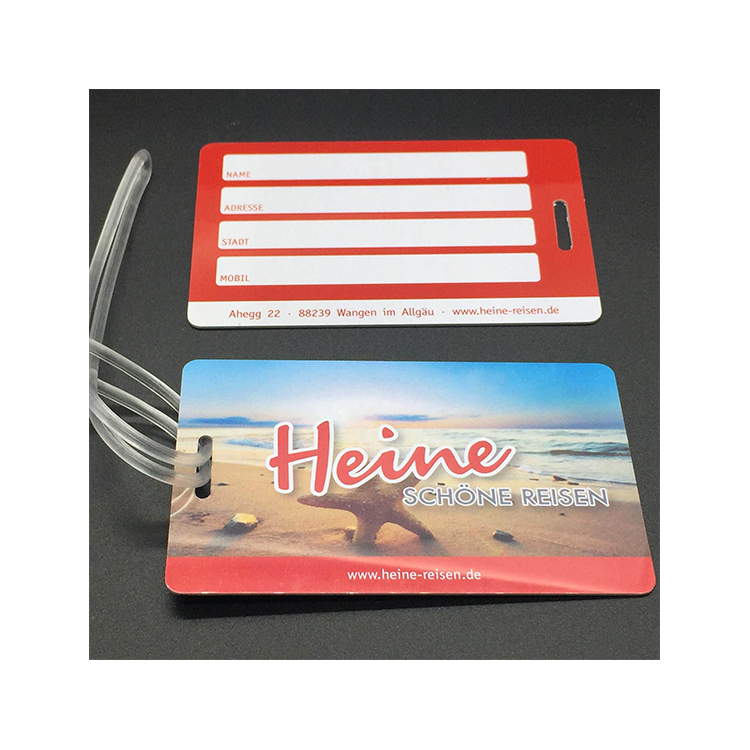 Free Samples Custom Travel Accessories Pvc Luggage Tag