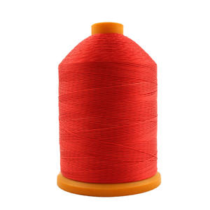 210D/16 DIY high quality manual leather sewing polyester plain wax leather shoes thread 100% polyester wax thread