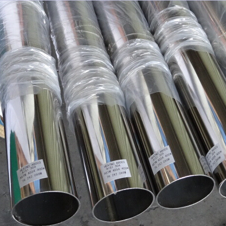 Hot Sale 410 420 430 440 Stainless Steel Welded Light Tube Price