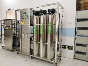 Ro Pure Water Treatment Plant deionized Water For Injection