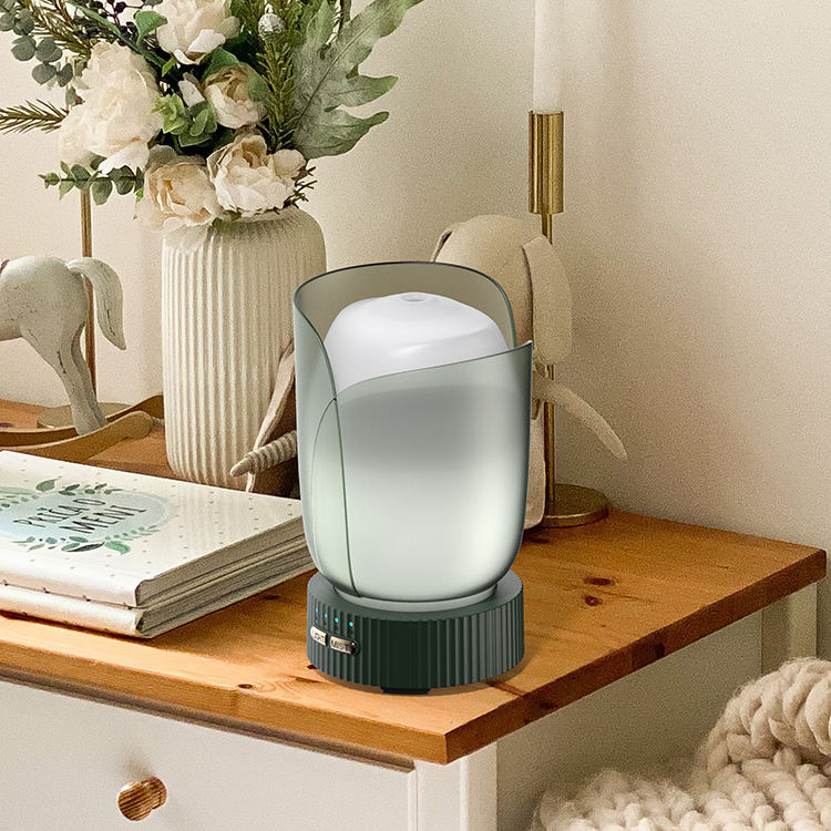 Olamlife Room Tabletop Dekoratives LED-Nachtlicht Cool Mist Luftbe feuchter Aroma therapie Diffusor Aroma