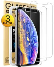 Amazon Hot for iphone 11 Pro Max Glass Screen Protector 3 Pack,Bubble Free Tempered Glass Screen Protector for iphone 11