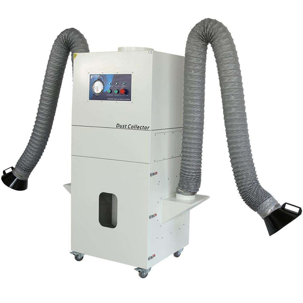Air dust extractor detailing steamer