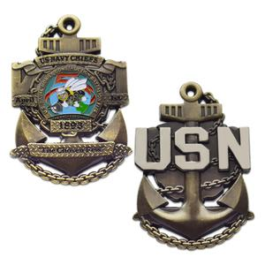 Custom Souvenir Commemorative Coin Metal military challenge coins USN coins no minimum
