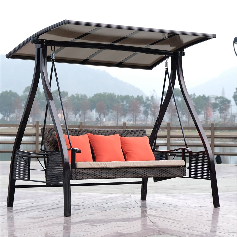 high quality outdoor swings for adults 3 sit swing patio swings for Bistro set