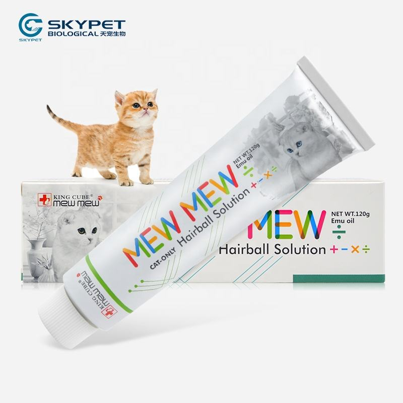 MEWMEW Animal Health Product Cat Excretion Hairball Cat Nutritional Supplement