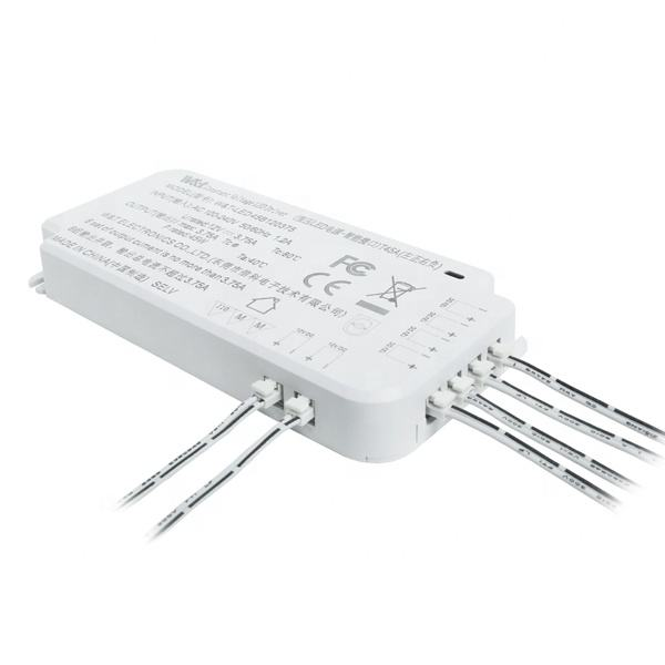 45W 60W 12V 24V Ultra Slim Constante Spanning Ultra Dunne Strip Licht Triac <span class=keywords><strong>Dimbare</strong></span> Led <span class=keywords><strong>Dimbare</strong></span> driver Triac Led Power Driver