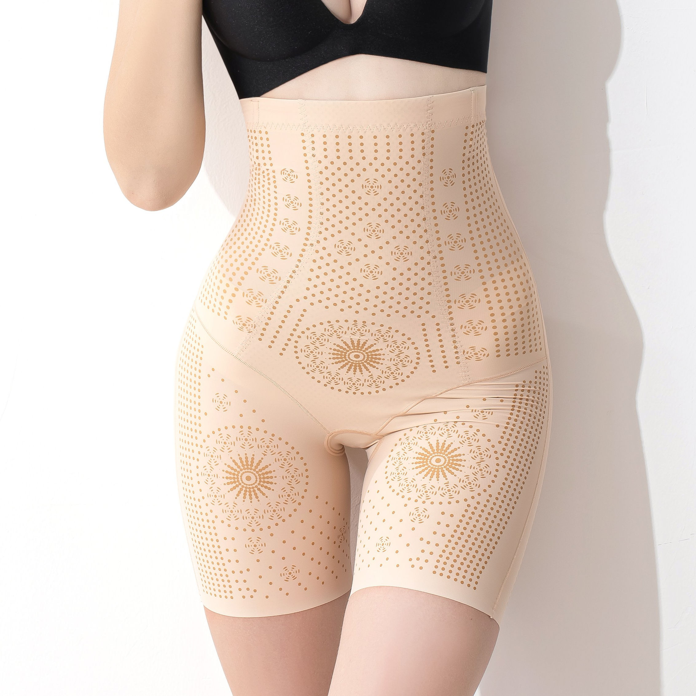 New Design Women Slim And Lift Shapewear Butt Lifter High Waist Tummy Control Shapewear Body Shaper
