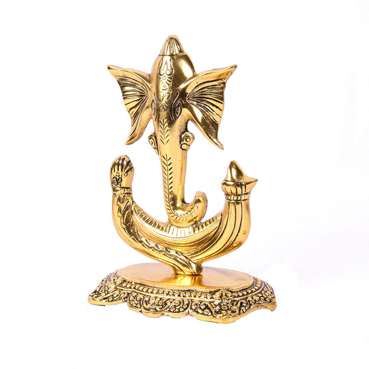 Metal Lord Ganesha Statue Unique idol for Home Decor