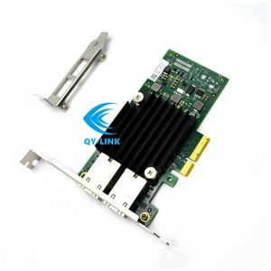 X550-T2 10GB NIC Card PCI Express Gigabit Ethernet PCIE PLACA De Rede Adaptador de Rede 10G 10 X550 2 Porta cartão do Lan do PCI