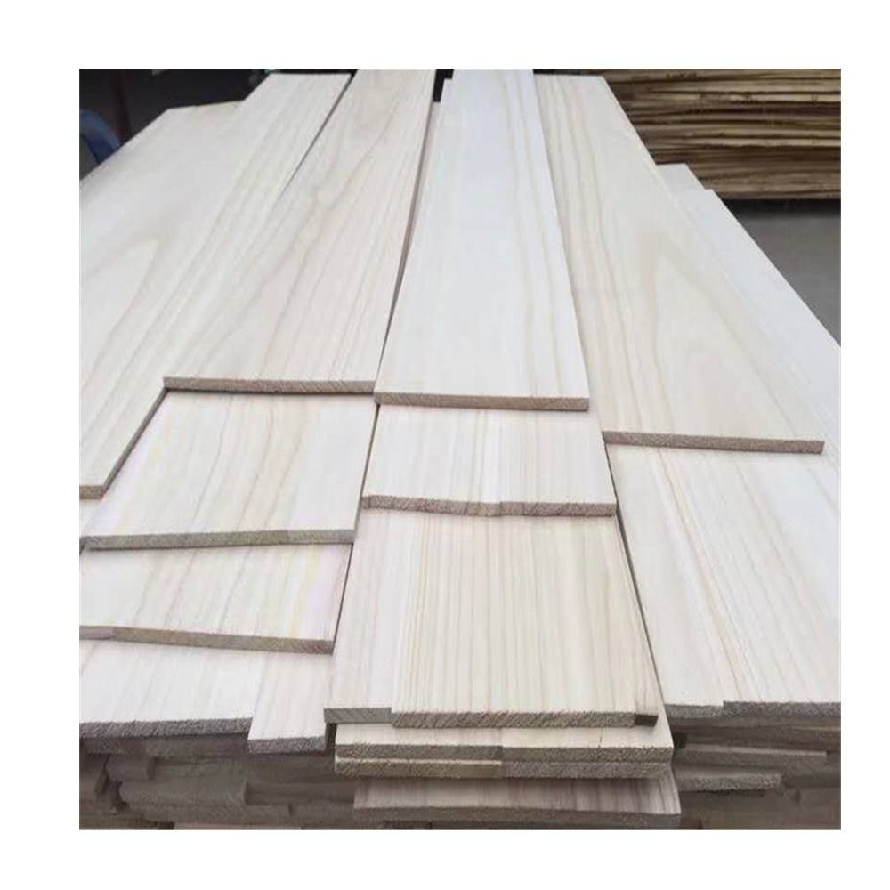 High Quality Helmlack Wooden Wall Panel Paulownia Wooden Sauna Board factory wholesale