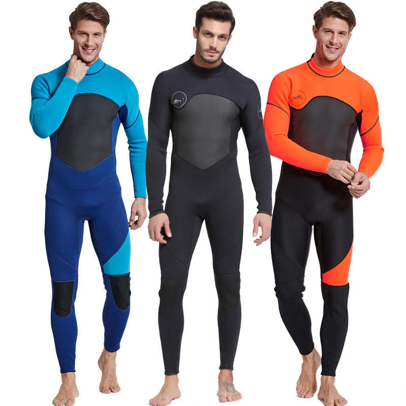 New Arrival Men's Full Body 3MM Diving Suit Yamamoto Wet Suit Neoprene Diving Surfing Wetsuit
