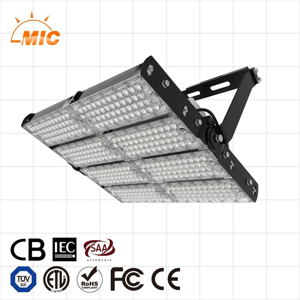 CB IECEE Saber Saso 120w 200w 240w 400w 500w 600w 720w logistic airport Stadium projector Lamp high mast led flood light