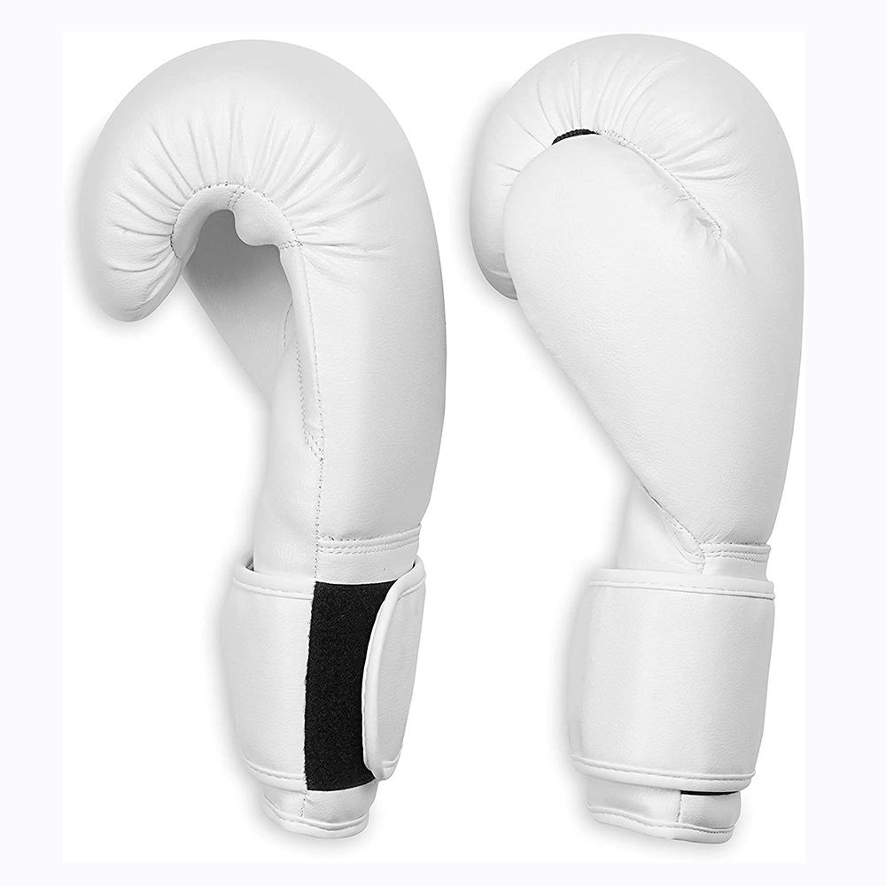 Kickboxing Punching Heavy Bag glove leather 16oz Sparring Martial Arts Training Boxing Gloves custom logo