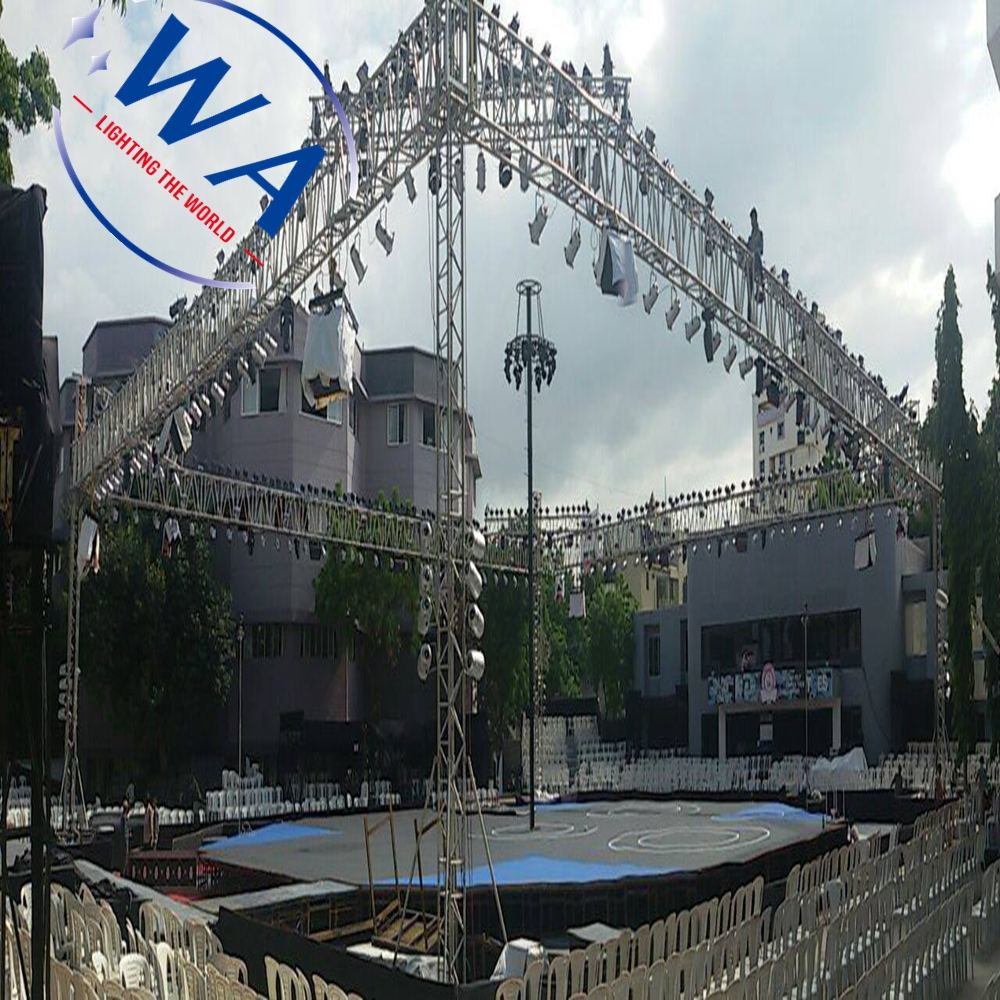 Good price 2m Moveable Events curved aluminum truss Truss+Display