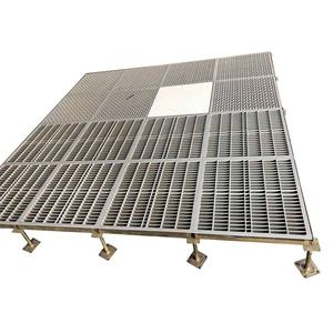 steel raised ventilated raised access floor system in data center price