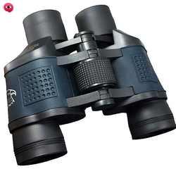 Amazon Wholesale HD High Power 80X80 Binoculars Low Light Night Vision Adult Children Outdoor Adventure Hunting Mountaineering D