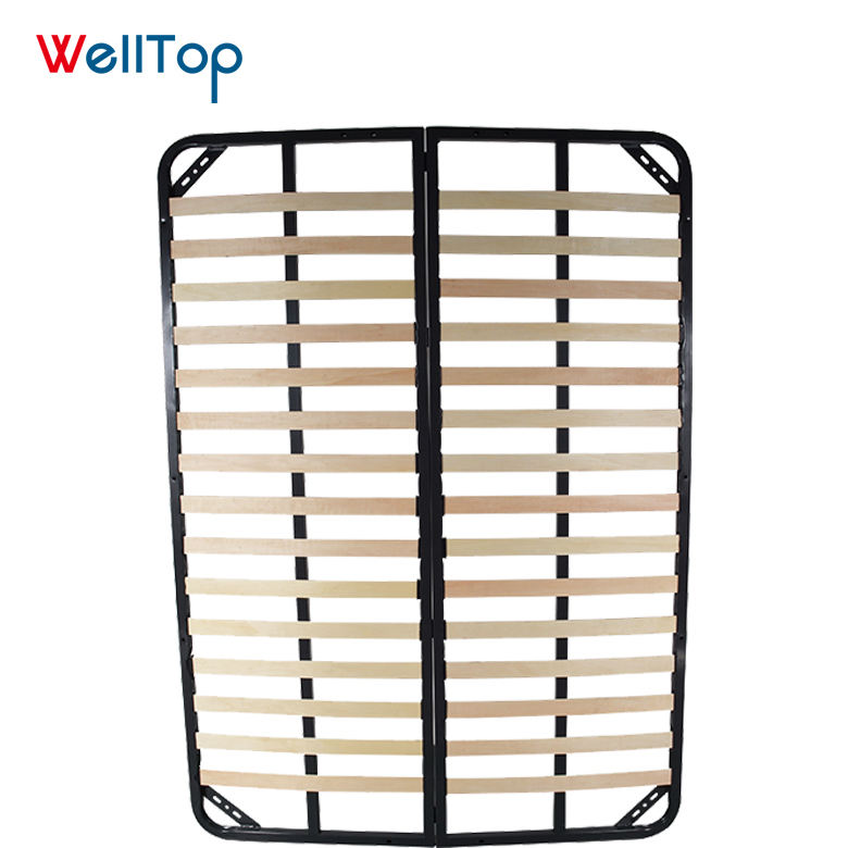 King/queen/twin size metal bed frame parts soft bed frame storage VT-14.010