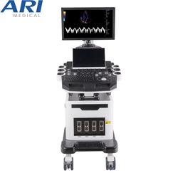 2D 3D 4D trolley color doppler caridac ultrasound machine