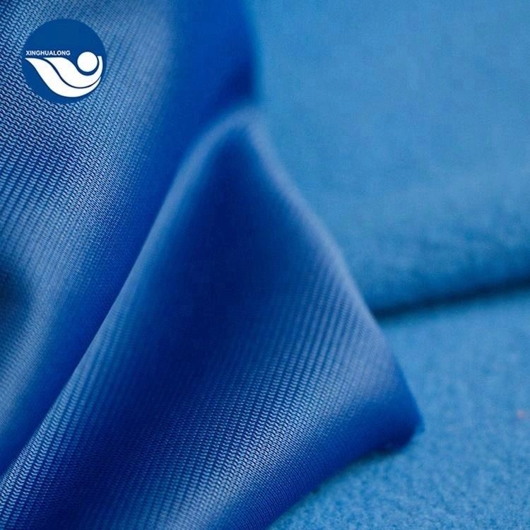 shaoxing polyester tricot brushed german velvet fabric