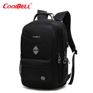 Waterproof 18 inch Smart Business Laptop Backpack Travel 3 Compartment Usb Laptop Backpack