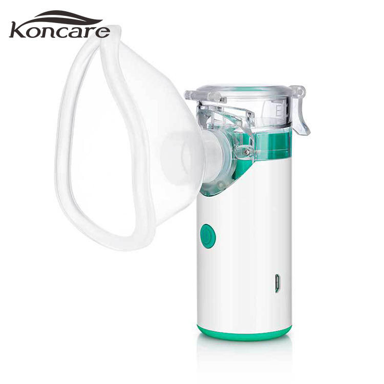 Portable Ultrasonic Nebulizer for Children Inhaler Atomizator Rechargeable Battery Home Care Mini Nano Nebulizer