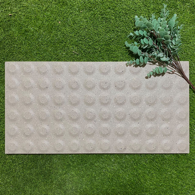 300x600mm white tactile paving floor tiles for blind people non slip ceramic tactile out door floor tiles