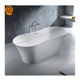 Engineered stone material bathtub price acrylic solid surface bathtubs