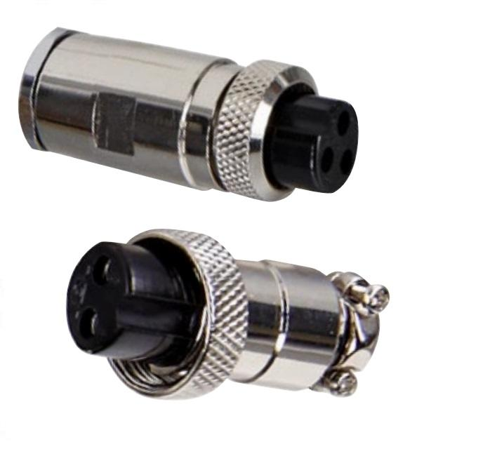 4 Pin Male & Female <span class=keywords><strong>Diameter</strong></span> 16Mm Draad Panel Connector GX16-4 Socket Plug