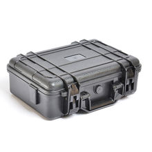 Branded Computer Case Heavy Duty Plastic Case With Sponge Inside For the Equipment Protection