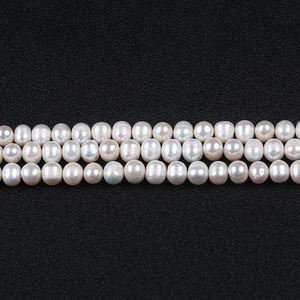 14*25mm Black Baroque Natural Nuclear Pearl Beads for Jewelry Making Strand 14/'/'