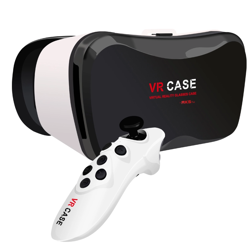 2020 OEM VR Case 5 Plus headset vr 3D Glasses with remote controller