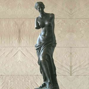 Classical western nude lady bronze venus statue for sale