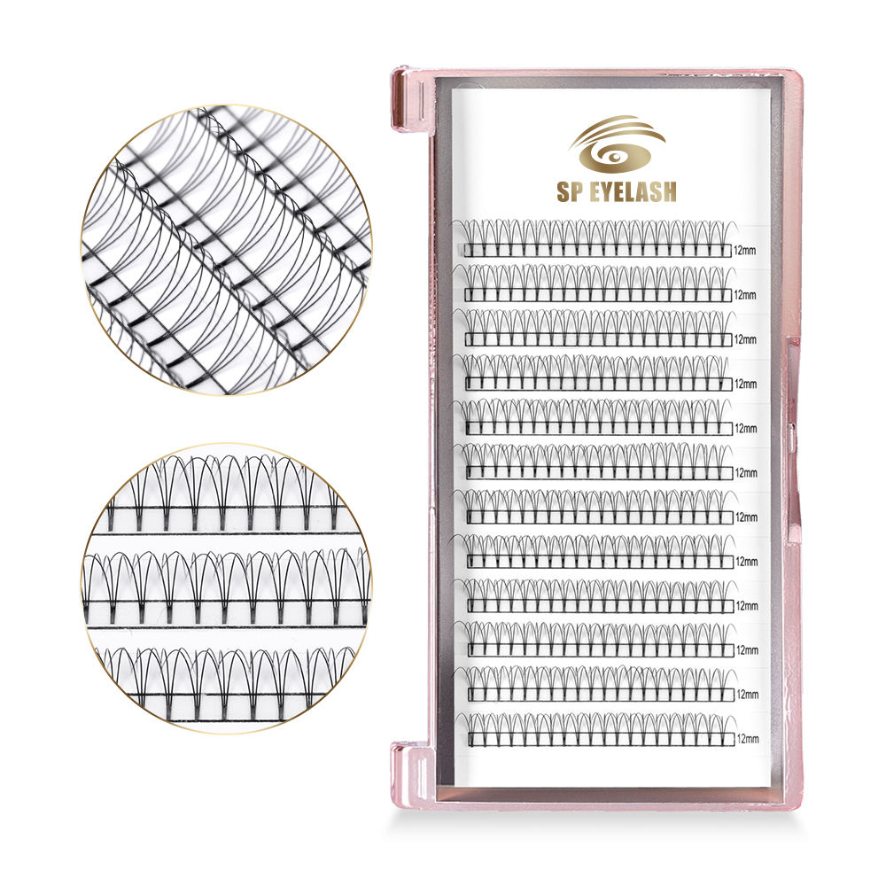 Manufacturer Easy To Make Fans Double Layer Eyelash C D Cc Dd Extensions