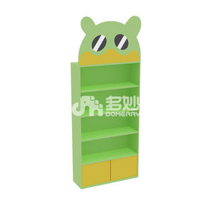carton doctor panda floor shelf storage combine rack family modern hands kids wooden children furniture sets