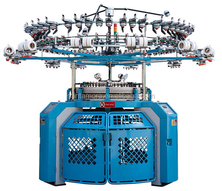 Máquina de tejer circular de <span class=keywords><strong>alta</strong></span> velocidad Jacquard <span class=keywords><strong>Terry</strong></span> Towel