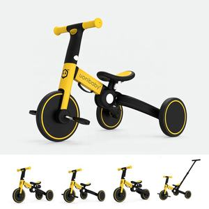 Uonibaby kids balance bike children bicycle 4 in 1 kid tricycle trike
