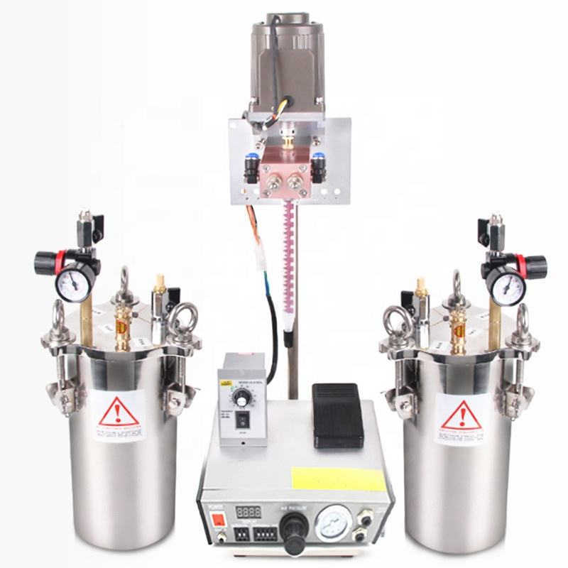 high precision and high quality AB Glue Two Component Mixing Automatic Epoxy Resin Dispenser