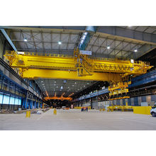travelling overhead bridge crane 2t 5t with magnet