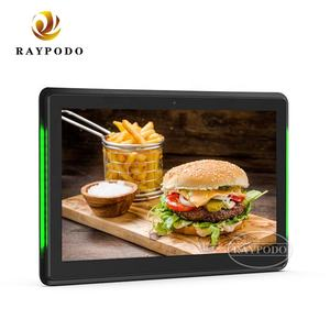 Raypodo 15.6 Inch 1920*1080 Full Hd Capacitieve Touch Wall Mount Tablet Met Android Systeem