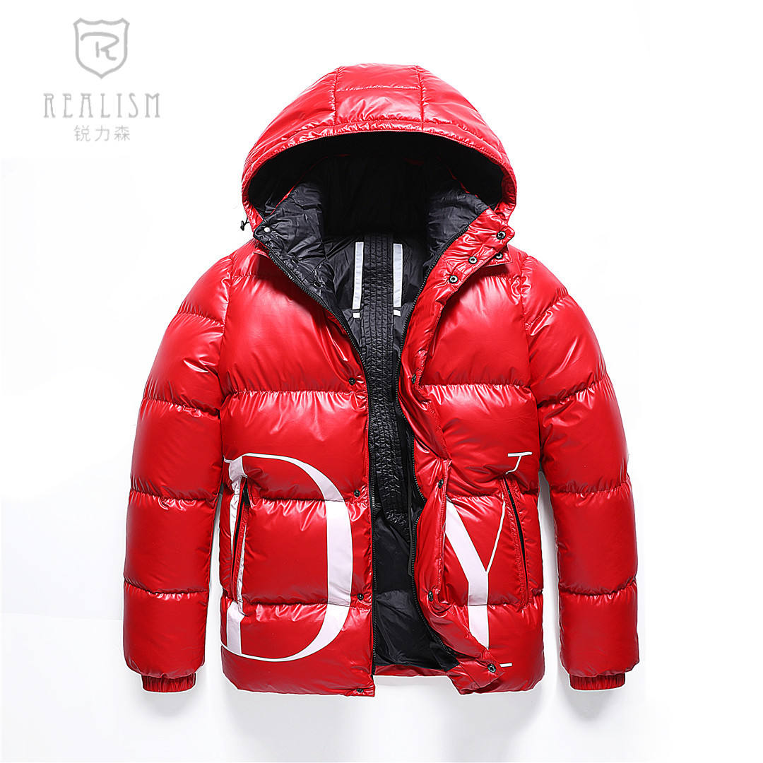 Custom Printed Mens Padded Coats Waterproof Softshell Bubble Puffer Jacket Warm Mens Winter Jacket Outdoor Down Jacket For Men