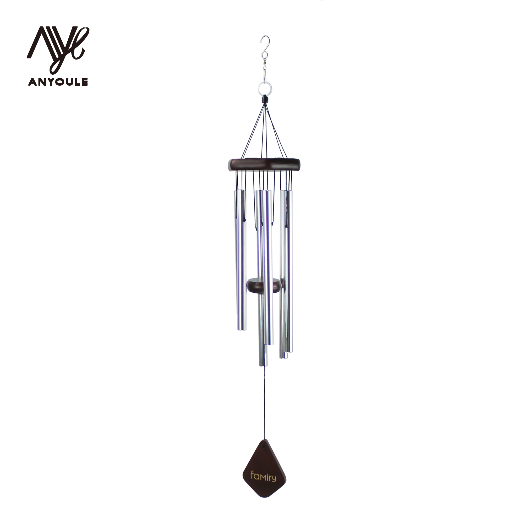 Metal Tube Garden engel Music Wind Chimes mit haken indoor und outdoor