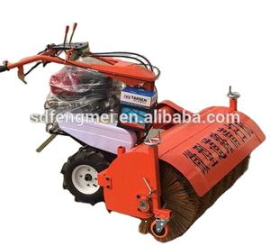 Best Quality Electric Starter 8HP Gasoline Handy Small Street Sweepers