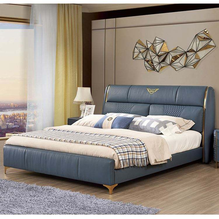 Wholesale wood eco-friendly living room sofa wood bed
