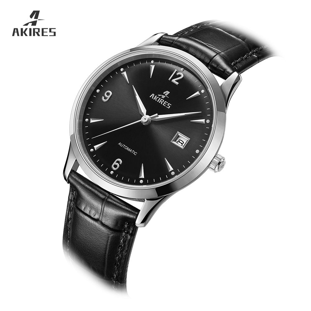 Automatic Mechanical Wristwatch Japan miyota Movt Watch AKIRES 2019 Brand Watch 316 stainless steel sapphire glass