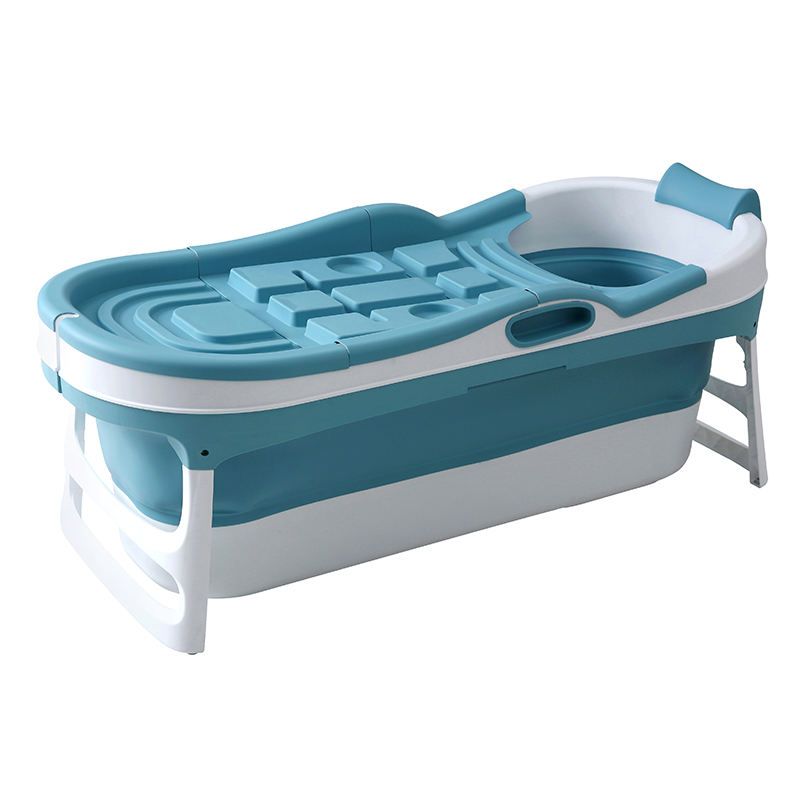Portable Adults Soaking Plastic Freestanding Large Deep Collapsible Foldable Bathtub