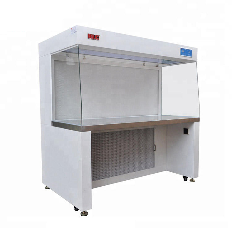 Class 100 แนวนอน Laminar Flow Clean Bench,Laminar Flow Hood พร้อม HEPA FILTER