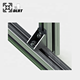 High quality die cast 90 degree aluminum profile corner bracket from manufacture