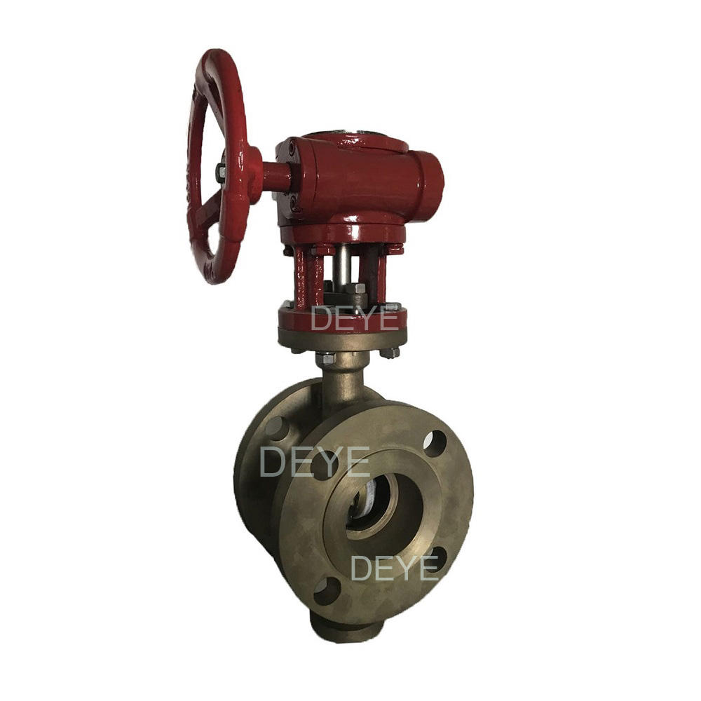Marine Chemical Wafer Lug Bronze Gunmetal Copper PTFE Seat Butterfly Valve